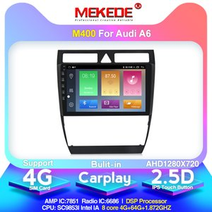 2020 Neue Ankunft! Mekede FOR / A6 / S6 / 6 Car Multimedia Player avtagnitola Android 10.0 Built-in Carplay DSP IPS 4G-Netz Auto-DVD