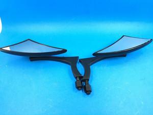 Specchietti retrovisori Mini Side per Harley Davidson Sportster Dyna Softail Black Honda