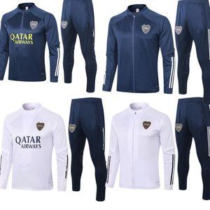 training Boca Juniors zipper windbreaker long sleeve jacket coat2020 2021 BENEDETTO ABILA CARDONA GAGO TEVEZ winter sports plus