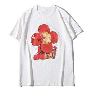 Yaz Yeni Erkek T Shirt Çiftler Yumuşak Pamuk Kısa Kollu Moda Trend Günlük Sun Flower Erkekler Kadınlar Tees yazdır