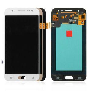 LOGO Ücretsiz DHL ile Samsung Galaxy J5 için AMOLED 2015 J500FN J500H J500M LCD Ekran Dokunmatik Ekran Digitizer