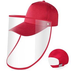 Unisex Transparent Face Shield Hat Outdoor Baseball Cap Facial Protection Baseball Hat Anti-fog Cap Windproof Face Shield Visors Hat