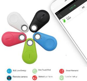 venta caliente Monedero Mini Smart Wireless Bluetooth Car Tracker Niño Animales llave del buscador del localizador GPS anti-perdida alarma de recordatorio para los teléfonos