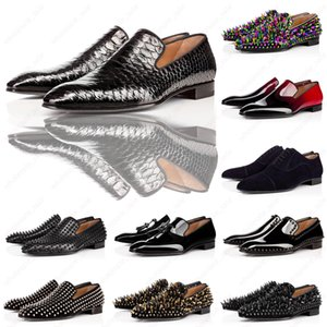 With Box Party Dress Wedding Slip On Loafers Shoes For Man Dandelion Tassel Sneaker Shoes Red Bottom Oxford Shoes Luxury Men's Leisure Flat