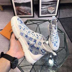 LV Louis Vuitton 2019o limitada costume edição dos homens sapatos casuais, moda selvagem sapatos desportivos, entrega original embalagem caixa de sapatos, metragem: 38-44