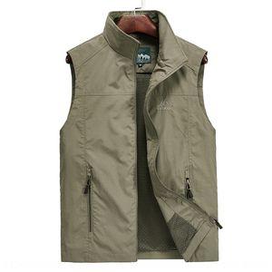 EyzZJ Men's Travel Leisure outdoor quick-drying photography fishing waistcoat 8908 Men's Travel Leisure outdoor vest quick-drying photograph