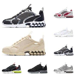 Fashion Spiridon Caged 2 men sneakers running shoes FOSSIL Black Grey Metallic Silver Pure Platinum Lemon women sport Outdoor Breathable