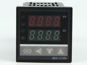RKC REX-C100 REX-C100FK02-V * DA DA Controlador de Controle de Temperatura PID Digital Termostato SSR Saída 0-400 Graus K Tipo Entrada