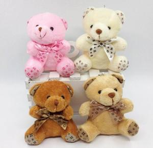 Ours en peluche avec écharpe en peluche poupées poupée porte-clés bébé cadeau filles jouets de mariage lancer et décoration de fête d'anniversaire