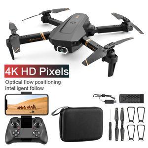 V4 WIFI FPV Drone WiFi vídeo en directo 4K / 1080P HD Amplio Ángulo de cámara plegable Altitud Hold RC duradero