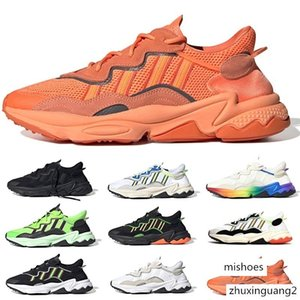 New 3M Reflective Xeno Ozweego For Men Women Casual Shoes Halloween Neon Green Tones Pride Trainer Sports Sneakers Size 36-45