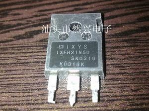 Transistor de efeito de campo usado IXFH21N50 IXFH21N50Q MOSFET TO-247 TO-3P teste Ok