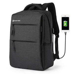 MOYYI USB Şarj Laptop Sırt Çantası 15.6 inç Anti Theft Erkekler Travel Leisure İş Gezisi Dijital Çanta
