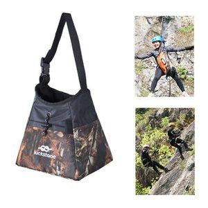 Qualitäts-Oxford-Tuch wasserdicht Climbing Tasche Praktische Außengewichtheben Boulder Magnesium Bag Kletterausrüstung