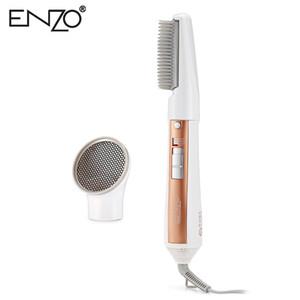 ENZO Hair Dryer 2-in-1 Hair Styling Rotary Hot Brush Dryer Séchage à 360 degrés 3 Niveau de force Brosse à cheveux pour Stryling AB