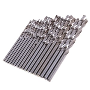 Precision Pin Vise Hand Drill Twist Bits For Models And Hobby Set Of 17pcs