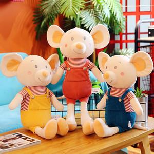 1Pc 35cm / 55cm / 75cm reizendes Paar Mäuse Plüschtier weiche Karikatur-Tier-Mädchen / Junge Hamster gefüllte Puppe Freundin Kid Geburtstagsgeschenk