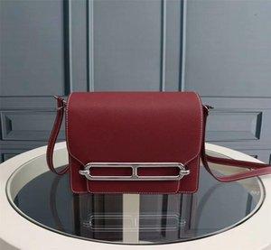 2018 classic fashion hot sale lady casual genuine leather He luxury design handbag woman crossbody shoulder flap bag