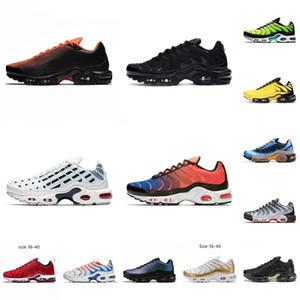 2020 Yeni Kalıtım Yenilik Kireç Blast Platin Renk Tonu Siyah Beyaz Patlama Erkekler sneaker Kadınlar Air PlusPrm Koşu Ayakkabı