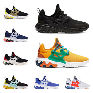 nike react 2019 erkekler kadınlar için BEAMS koşu ayakkabıları presto tepki üçlü siyah DHARMA Hyper Kraliyet Acımasız Bal erkek nefes trainer spor koşucu