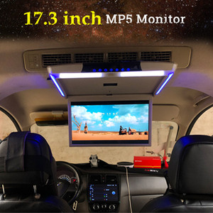 17,3 pollici auto Monitor Schermo a soffitto Monte Tetto MP5 Player HD 1080P video di tocco HDMI / USB / SD / FM / Bluetooth / altoparlante ultra sottile