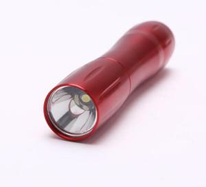 mini portatili torcia flash LED in lega di alluminio si illumina risparmio di energia eccellente strumento di campeggio esterna medica Torcia lampada batteria torcia