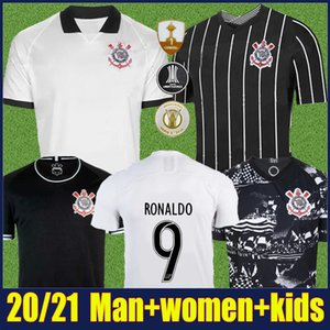 2020 Corinthians maglie di calcio i bambini kit FAGNER Jadson Pedrinho magliette di calcio GIL RAMIRO RONALDO uniforme di calcio Camisa Corinthians 20/21