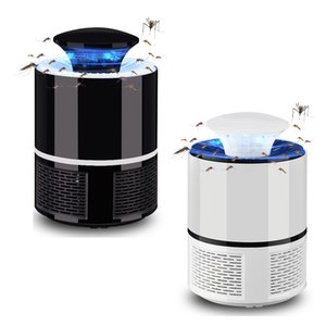 Eléctrico Usb Fotocatalizador Mosquito Mosca Polilla Trampa de insectos Powered Bug Zapper Moskito Killer C19041901