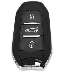 3 버튼 DS Smart Remote Key 433MHz 7945 칩, Peugeot 508 / Citroen C4 비상 키 HU83 블레이드 Goove KYDZ Board 포함