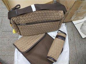 Caçoa meninas meninos moda sacos de enfermagem vários tote função bolsa da mamãe bolsa elegante fralda