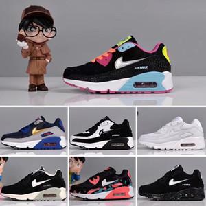 Nike Air Max 90 Zapatos para niños Skate Boys Girls Zapatillas para correr Zapatos para niños Zapatillas deportivas para niños talla 28-35