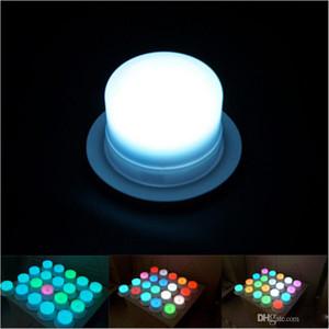 Neue LED-Möbel-Beleuchtungs-Batterie-wieder aufladbare geführte Birne RGB-wasserdichte IP68 Swimmingpool-Lichter