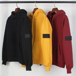 Sudaderas con capucha de diseñador para hombre Estilo de moda casual Impresión en piedra Suéter de terciopelo con capucha de algodón Marca Sudaderas con 3 colores Tamaño asiático M-2XL