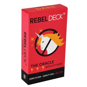 Повстанческая колода-игра-оракулы игра интуиции и гадания Таро карточные игры с отношением ноль фильтр ноль Fcks