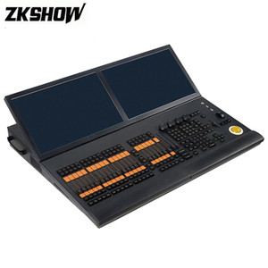 80% Off Screen grandMA2 Console DMX Controller Yellow Bird Toque duplo estágio de iluminação Console DJ Disco Equipamento Música Com Flightcase