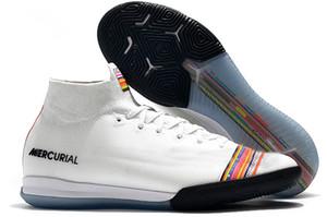 futbol krampon 6 Elite TF kapalı futbol ayakkabıları çim gençlik Kramponlar SuperflyX krampon erkek Mercurial Superfly 360 de