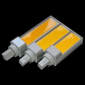 مصباح القابس الأفقي LED LIGHT LED E27 G24 COB Corn Light AC85V-265V 10W 12W 15W White Warm White White Spotlight Side lighting