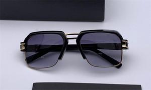 Модные солнцезащитные очки популярные классические квадратные рамки высшего качества простой и щедрый стиль 6020 защита очки с коробкой