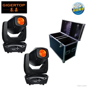 Yeni Geliş flightcase 2in1 lir kafa Işık Moving Head Işın Nokta Wash 3in1 Hareketli 200w LED