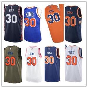 ncaa custom basketball jersery Ny 30 Bernard King New YorkKnicks Knick free ship white red yellow basketball wear