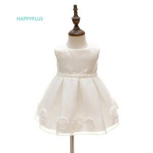 Compleanno Abiti HAPPYPLUS ragazze floreali bambino Abito da sposa 1 Year Old Party Girl Dress del bambino del bambino di battesimo Battesimo Frock