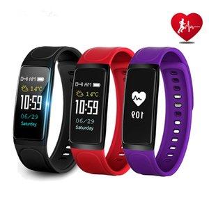 C7S Smart Bracelet Montre Fitness Tracker Coeur De La Pression Artérielle Moniteur De Fréquence Smart Montres Étanche Écran Smartwatch Pour iPhone Android