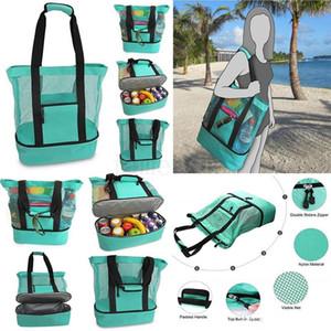New picnic heat preservation ice bag beach bag multifunctional camping preservation heat preservation bag SZ635