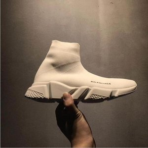 Top Quality Unisex Casual Shoes Flat Socks Boots Woman New Slip-on Elastic Cloth Speed Trainer Runner Man Sports Shoes Outdoors 36-45