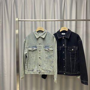 2Denim jacket men's Korean Trend spring and autumn new couple leisure spring handsome ins trend all-around jacket138