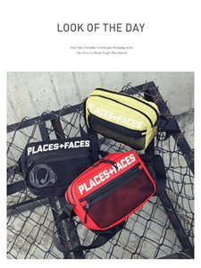 Дизайнер-мужчины и женщины сумка tide бренд рюкзак хип-хоп холст повседневная сумка Messenger bag Di package