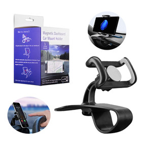Car Mounts Cell Phone Holders Universal Windshield Car Air Vent Dashboard Holder Bracket Support 360 Degree Rotation Stand With Strong Clamp