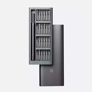 Original Neue 100% Xiaomi Mijia Wiha Tägliche Nutzung Kit 24 Präzision Magnetische Bits Alluminum Box DIY Schraubendreher Smart Home Set heiß