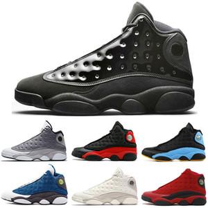 nike air jordan retro 13 13s Kap Ve Kıyafeti Erkek Basketbol Ayakkabıları 13 s Getirdi Terracotta Allık XIII Chigago Siyah Kızılötesi DMP Phantom cp3 Atmosfer Gri Spor Sneakers