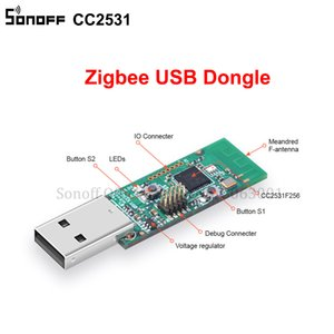 5p / lot Sonoff Zigbee CC2531 USB Dongle USB Sniffer nu Board Module analyseur de protocole Packet Interface Dongle capture de paquets Module